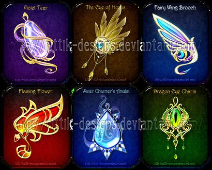 Magic items adopts 6 (CLOSED) by Rittik-Designs