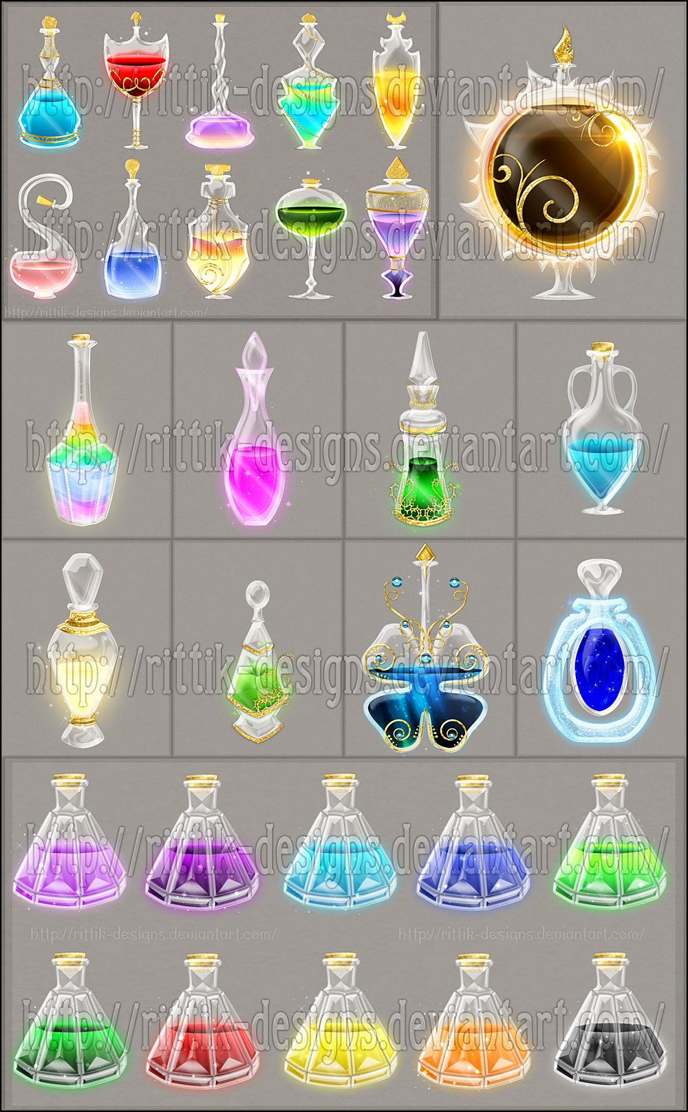 potions and elixirs commissions by rittik