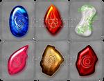 Rune stones commissions