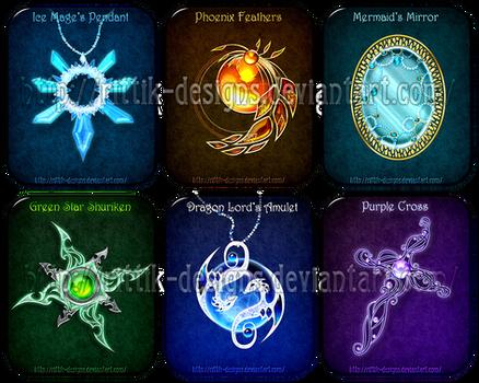 Magic items adopts 7 (CLOSED) by Rittik-Designs