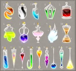 Potion adopts 8 (CLOSED) by Rittik-Designs