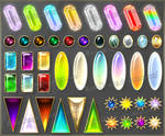 Gems 7 (downloadable stock)