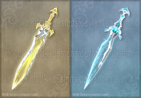 Broken Swords (CLOSED) by Rittik-Designs
