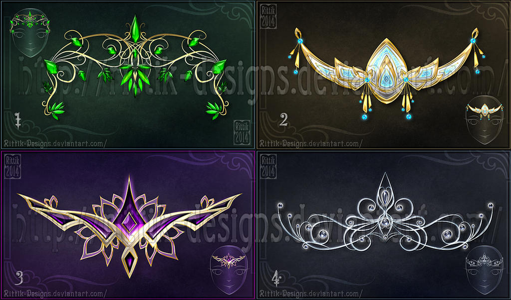 Diadems adopts 2 closed by rittik designs on deviantart for 2 by 4 design