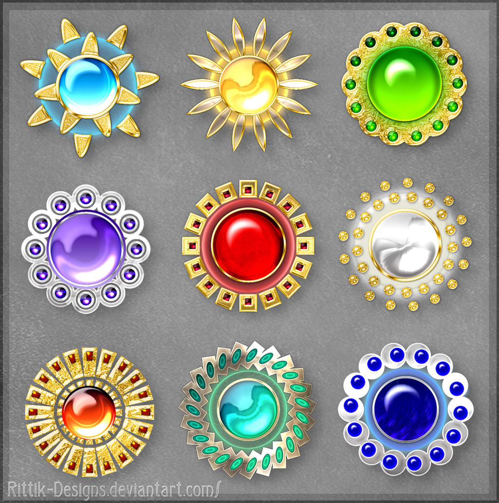 Mystic Gems (raffle prizes)