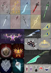Weapons and items commissions
