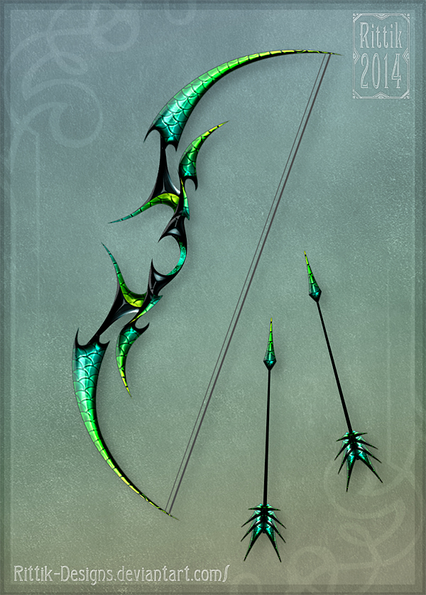Dragon's Bow by Rittik-Designs