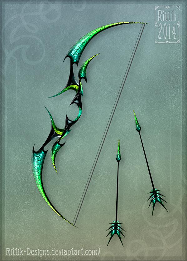 Dragon's Bow by Rittik-Designs