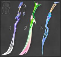 Swords adopts 4 (CLOSED) by Rittik-Designs