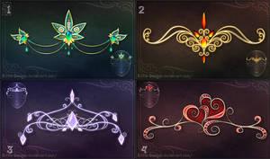 Diadems adopts 6 (CLOSED) by Rittik-Designs