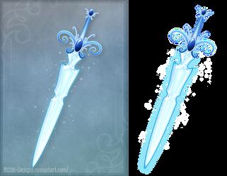 The Great April Sword (free stock) by Rittik-Designs