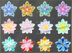 Magic Flowers (downloadable stock)