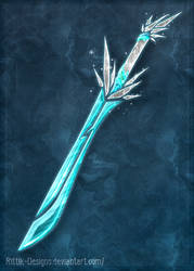 Elemental swords - Ice (CLOSED) by Rittik-Designs