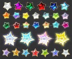 Stars 1 (downloadable stock) by Rittik-Designs