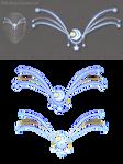 Moon diadem (free stock)