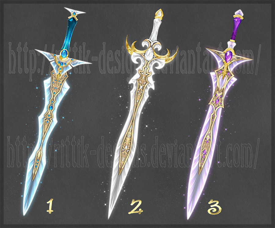 Swords adopts 9 (CLOSED) by Rittik-Designs on DeviantArt