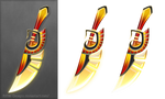 Fire dagger (free stock)
