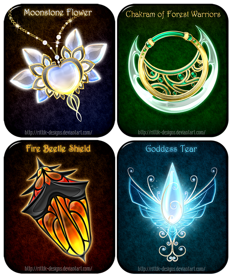Magic Items Adopts 14 Closed By Rittik Designs On Deviantart
