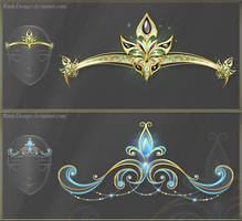 Diadems adopts 8 (CLOSED) by Rittik-Designs