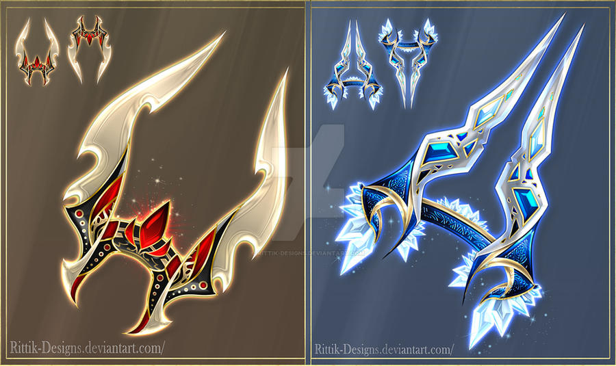 exotic weapons adopts 1 closed by rittik designs on