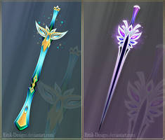Swords adopts 13 (CLOSED) by Rittik-Designs