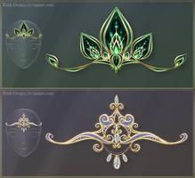 Diadems adopts 9 (CLOSED) by Rittik-Designs