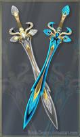 Twin swords (CLOSED)