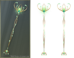 Elven Staff (free stock)