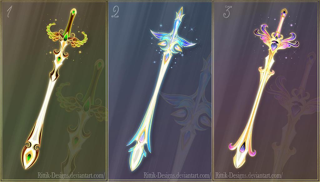 fairy swords closed by rittikdesigns on deviantart