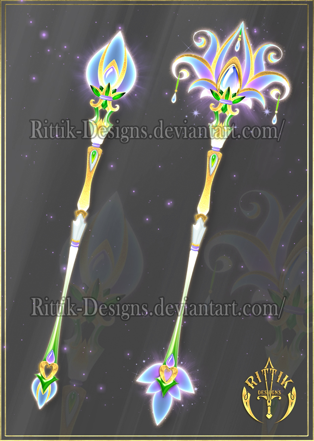 Blooming Staff Adopt Closed By Rittik Designs On Deviantart