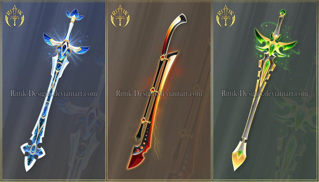 Swords adopts 15 closed by rittik designs on deviantart - Coole wanddesigns ...