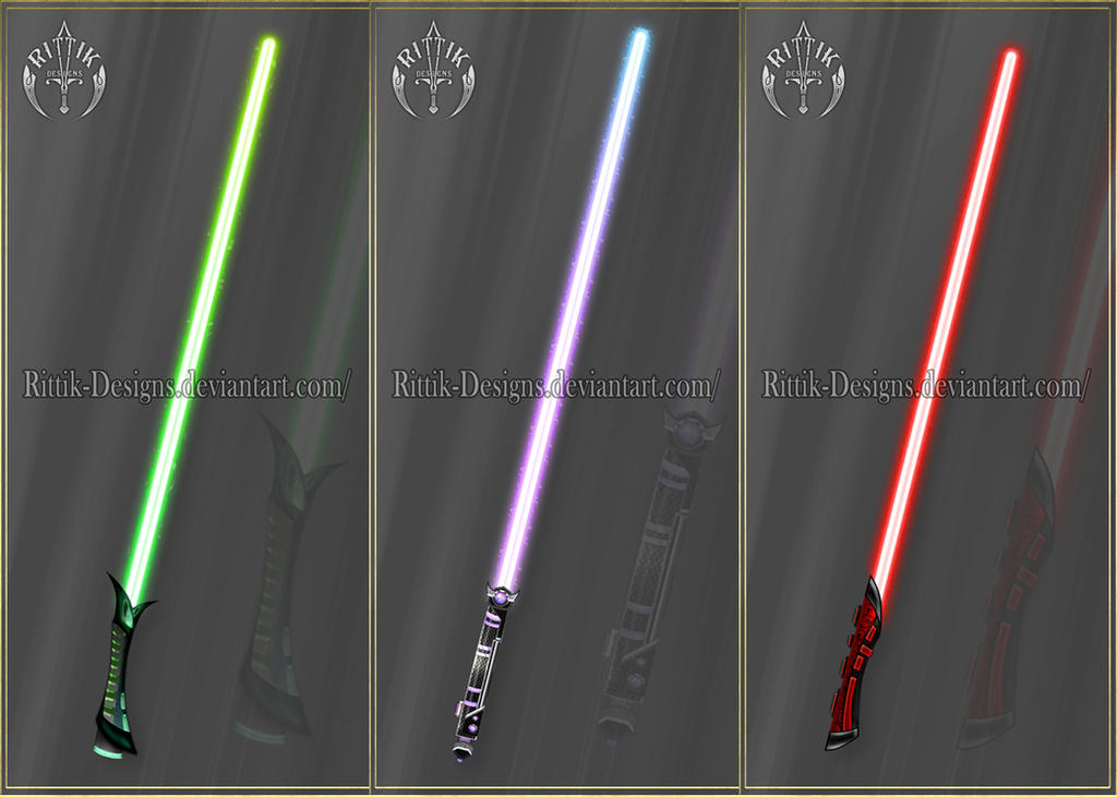 Lightsabers adopts (CLOSED) by Rittik-Designs