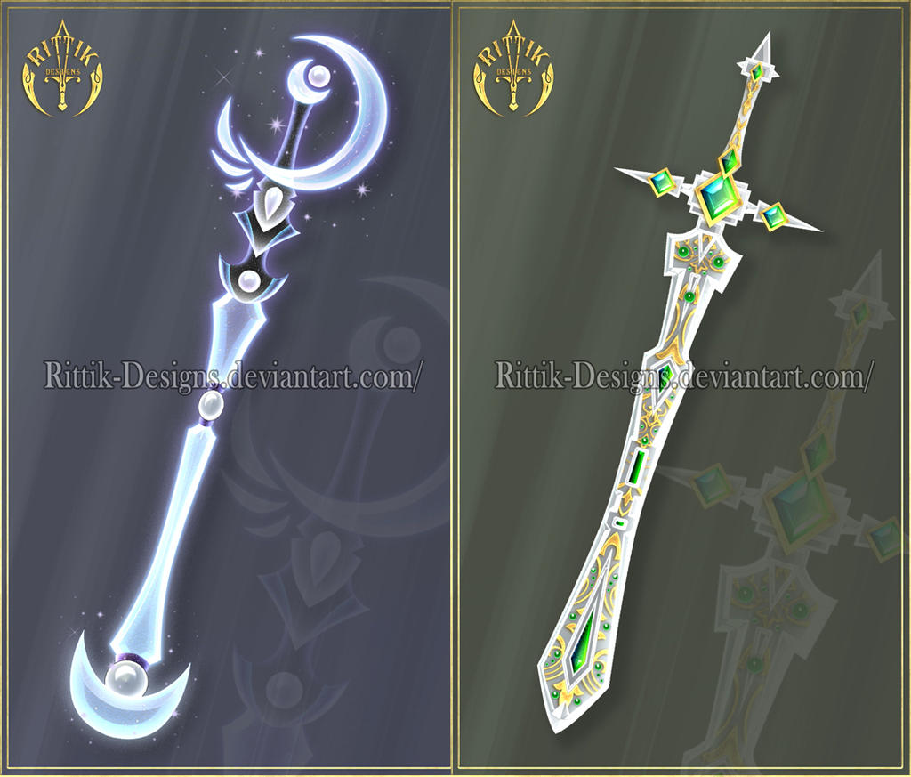 Swords adopts 16 closed by rittik designs on deviantart - Coole wanddesigns ...