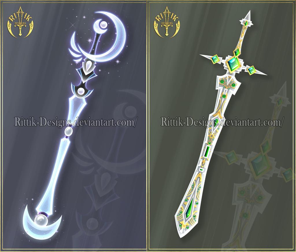 Swords adopts 16 closed by rittik designs on deviantart - Coole wanddesigns ...