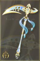 Sun Dancer's Scythe (CLOSED) by Rittik-Designs