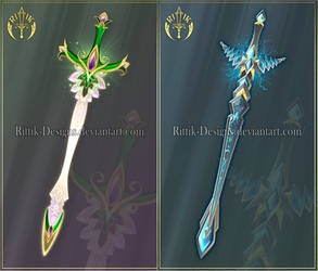 Swords adopts 18 (CLOSED) by Rittik-Designs