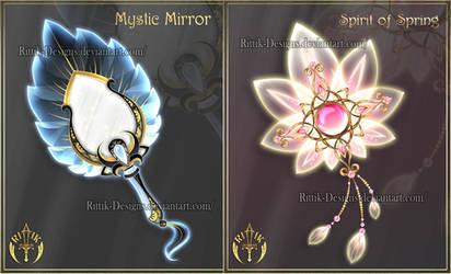 Magic items adopts 21 (CLOSED) by Rittik-Designs