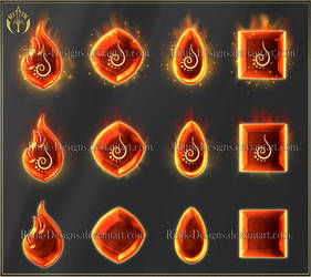Elements 1 - Fire (downloadable stock)