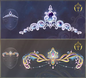 (CLOSED) Diadems adopts 13 by Rittik-Designs