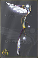 (CLOSED) Angel of Sorrow, scythe adopt by Rittik-Designs