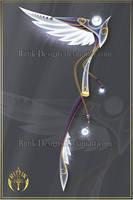 (CLOSED) Angel of Sorrow, scythe adopt by Rittik-Designs