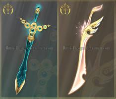 (CLOSED) Swords adopts 27 by Rittik-Designs