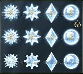 Elements 2 - Ice (downloadable stock)