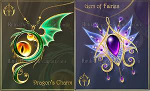 (CLOSED) Magic items adopts 25 by Rittik-Designs