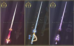 (CLOSED) Wand adopts 11 by Rittik-Designs