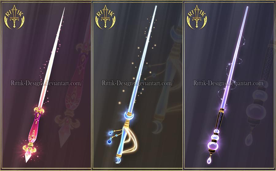Staffs and wands by rittik designs on deviantart - Coole wanddesigns ...