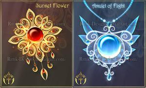 (CLOSED) Magic items adopts 26 by Rittik-Designs