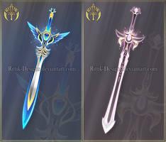 (CLOSED) Swords adopts 33 by Rittik-Designs