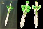 Summer sword (free stock)