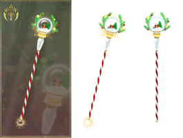 Christmas Staff (free stock) by Rittik-Designs